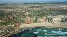 A Terceira Dimensão - Fotografia Aérea: Praia do Telheiro - Ponta do Telheiro