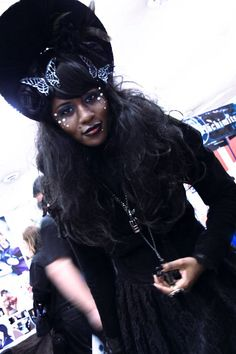 """Lolita"" AfroGoth Cosplayer: ???"