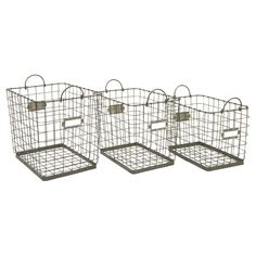 3 Piece Newbridge Basket Set