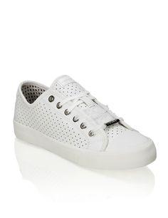HUMANIC - DKNY Sneaker - http://www.humanic.net/at/Damen/Schuhe/Sneaker/DKNY-Glattleder-Sneaker-weiss-1231102685