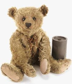"Prices realised at Christies ""Teddy Girl"" a cinnamon Steiff teddy bear Sold for £110,000, December 1994 World record price for a teddy bear London, South Kensington An exceptionaly fine and rare Steiff black teddy bear Sold for £91,750, December 2000 London, South Kensington ""Bruin"", a fine Steiff teddy bear Sold for £17,625, …"