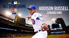 Addison Russell voted as starting shortstop for the NL All-Star team, his ASG debut. 7/5/2016