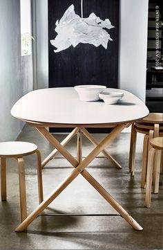 Une combinaison de style et d' intemporalité. (DALSHULT/SLÄHULT table)
