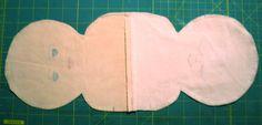 Keepsake Crafts | Topsy-Turvy Doll – Free Pattern and Directions, Part 1 | http://keepsakecrafts.net/blog