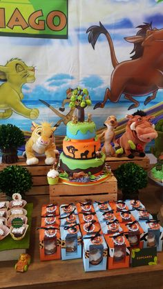Mesa First Birthday Party Themes, Baby 1st Birthday, Disney Birthday, Sons Birthday, Birthday Ideas, Lion King Theme, Lion King Party, Lion King Birthday, Lion King Baby Shower