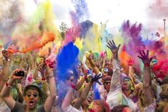 Festival Of Colors Looks Unsurprisingly Colorful