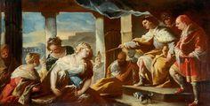 Jacopo Bassano : Figure Group 1 (Middlesbrough Institute of Modern Art  (United Kingdom - Middlesbrough)) 1510-1592 ヤコポ・バッサーノ