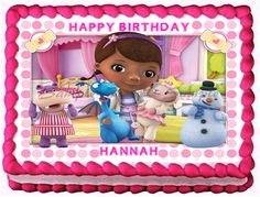 DOC MCSTUFFINS # 4 Edible image cake topper sheet, sheet, cupcakes and more sizes available 3rd Birthday Parties, 4th Birthday, Birthday Ideas, Birthday Stuff, Monkey Birthday, Doc Mcstuffins Birthday Cake, Foto Pastel, Personalized Cakes, Edible Cake Toppers