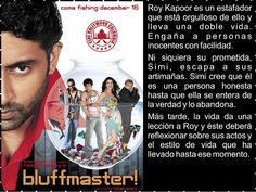 Cine Bollywood Colombia: BLUFFMASTER!