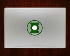 Green lantern symbol Macbook Decal Stickers