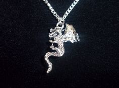 18 inch silver plated necklace.