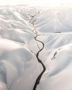 Winter Landmannalaugar Iceland // Benjamin Hardman