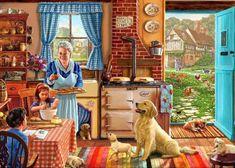 Grandma's Kitchen (Times Past) Artist: Steve Crisp