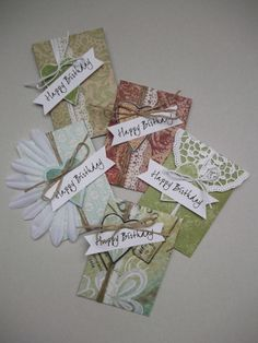 Small envelops for money gifts