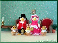 Sylvanian families duck family