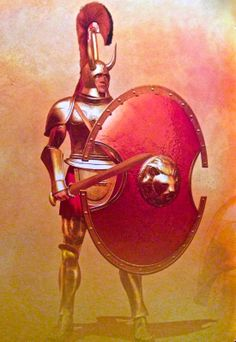 Hoplite of the Bronze Age   Christos Giannopoulos