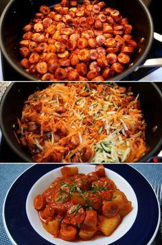 Den elskede klassiker har fået et sundt twist og er blevet fyldt med herlige grøntsager og fedtfattig madlavningsfløde i stedet for den fuldfede af slagsen.