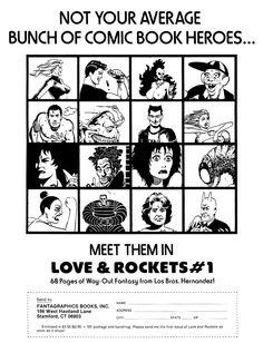 Love and Rockets Comics