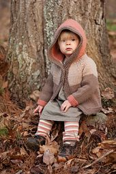Ravelry - Fawn hoodie and leg warmers knit pattern. Beautiful colors! Pattern only $6.
