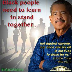 We should all stand together! #blackhistory