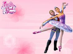 barbie in the pink shoes - barbie-movies Wallpaper