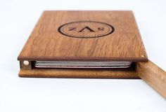 Personalized Business Card Holder Monogrammed by WaldenGoods