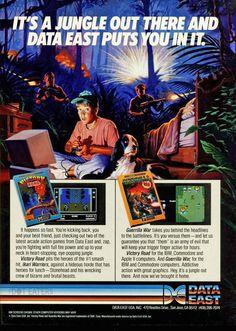 All the wacky hijinks of jungle warfare (1988). #retrogaming #bitstory