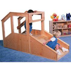 Strictly for Kids Premier Deluxe Step 'n Slide Infant/Toddler Mini Loft