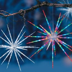 """LED Starburst Christmas Decor-30"""""""