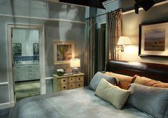 Alicia's bedroom from The Good Wife.