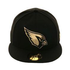 cc093d899df ... Caps   Hats. Exclusive New Era 59Fifty Arizona Cardinals Metal Badge Hat  - Black