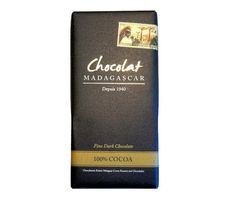 Chocolat Madagascar 100% cocoa
