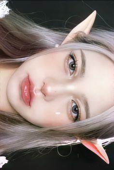 How To Do Makeup, Cute Makeup, Anime Uniform, Just Like Candy, Pinterest Girls, Fairy Makeup, Model Face, Girl Inspiration, Female Portrait