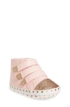 Rosie Pope 'Be Yourself' High Top Crib Shoe (Baby)