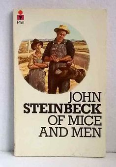 Of Mice and Men by John Steinbeck vintage Pan paperback classic novel 1974 Of Mice And Men, Book Covers, New Books, Novels, Classic, Vintage, Ebay, Design, Art