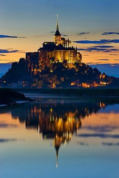 Mont st.michel france