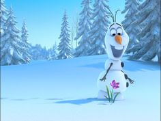 a Frozen inspired lesson plan on the states of matter! Olaf teaches water in its different states (it freezes into ice, melts into water, etc).. Kid would LOVE this!!