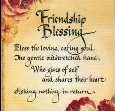 Friendship blessing...