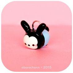Polymer Clay Disney Baby Oswald Tsum Tsum by Oborochann