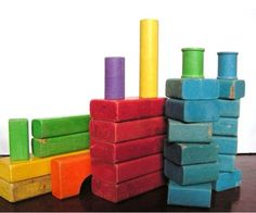 Sometimes I can still smell these blocks... Memories