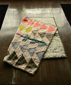 flying geese quilt : beautiful combo solid coulors