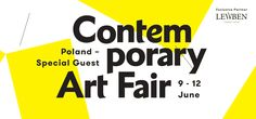 INTERNATIONAL CONTEMPORARY ART FAIR 9 – 12 JUNE 2016 MoCak – Museum of Contemporary Art, Krakow Łaźnia Centre for Contemporary Art, Gdansk