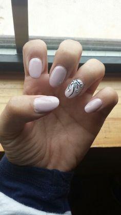 Nails #natural #oval #design
