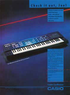 CASIO CZ-3000 Anzeige 1986