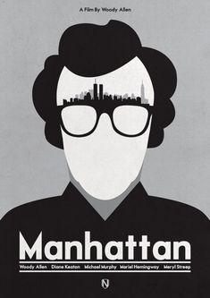 In quest'articolo, ho raccolto alcune delle più belle rivisitazioni della locandina di Manhattan.