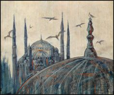FLY, BIRDS! TELL ME ABOUT ISTANBUL by Badusev on DeviantArt