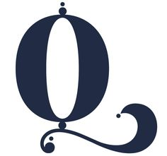 Brought to you by the letter Q