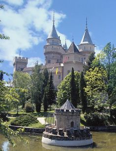 The Bojnice Castle in Slovakia.