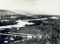 321-1859-vedere de pe cetatuie-zona cart. grigorescu si a parculuiVictor Babes-in spate-calvaria - clujul vechi