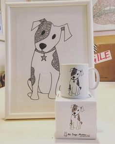 Marty Cofie's cute dog merch on its way to All Dog's Matter. All Dogs, Cute Dogs, Snoopy, Awesome, Illustration, Photos, Animals, Fictional Characters, Home Decor